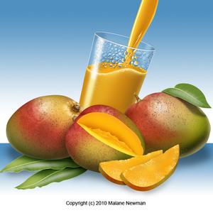 Fruit mangos
