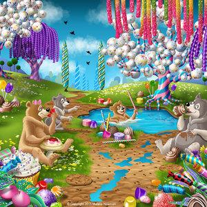 Lg illus candy pond