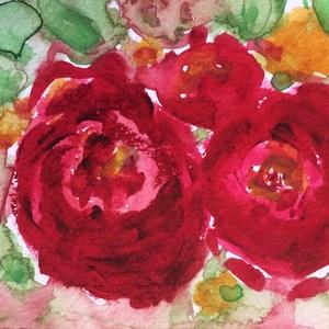 Late autumn rose nace
