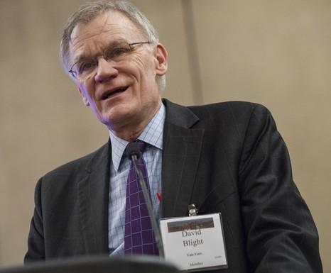 David Blight of Yale University speaking at the Opening Plenary