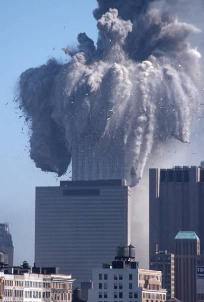 WTC1 Exploding