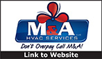 Website for M & A HVAC  Services, LLC