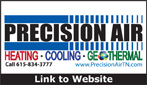 Website for Precision Air, Inc.