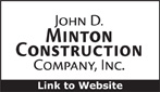 Website for John D. Minton Construction Company, Inc.