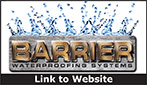 Website for Barrier Waterproofing Systems, LLC