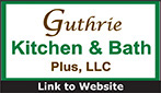 Website for Guthrie Kitchen and Bath Plus, LLC