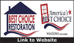 Website for Best Choice Restoration & America's Best Choice Windows