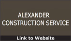 Website for Alexander Construction Service