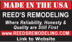 Website for Reed's Remodeling & Construction, Inc.