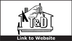 Website for T & D Construction, Inc.