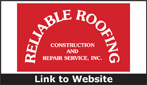 Website for Reliable Roofing, Construction & Repair Service, Inc.