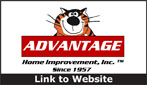 Website for Advantage Home Improvement, Inc.