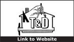Website for T & D Construction, Inc.