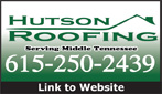 Website for Hutson Roofing Corporation