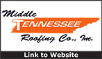 Website for Middle Tennessee Roofing Company, Inc.