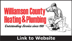 Website for Williamson County Heating & Plumbing