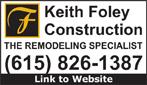 Website for Keith Foley Construction, LLC