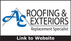 Website for AE Roofing & Exteriors