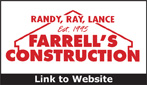 Website for Farrell's Construction Company