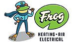 Website for Frog Heating & Air Conditioning, LLC