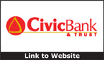 Website for Civic Bank & Trust