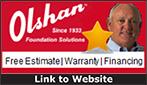 Website for Olshan Foundation Repair & Waterproofing Co. of Nashville, LP