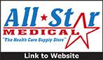 Website for All Star Medical, LLC - Hermitage