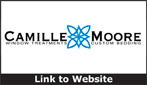 Website for Camille Moore Interior Treatments