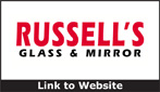 Website for Russell's Glass & Mirrors, LLC