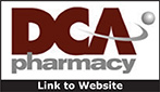 Website for DCA Pharmacy and Homecare