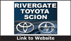 Website for Rivergate Toyota Scion