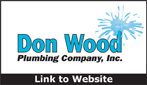 Website for Don Wood Plumbing Co. Inc.