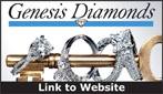 Website for Genesis Diamonds, LLC