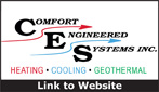 Website for Comfort Engineered Systems, Inc.