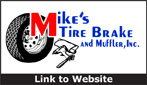 Website for Mike's Tire, Brake & Muffler, Inc.
