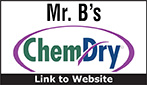Website for Mr. B's Chem-Dry Carpet Cleaning