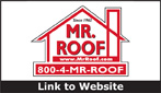 Website for Mr. Roof 1-800-4MR-Roof