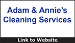 Website for Adam & Annie's Cleaning Services
