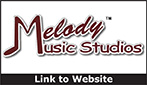 Website for Melody Music Studios