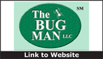 Website for The Bug Man, LLC