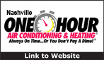 Website for One Hour Heating & Air Conditioning