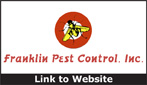 Website for Franklin Pest Control, Inc.
