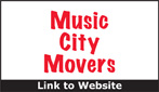 Website for Music City Movers