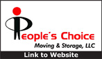 Website for People's Choice Moving & Storage, LLC