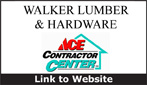 Website for Walker Lumber & Hardware, Inc.