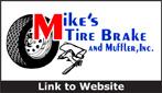 Website for Mike's Tire, Brake & Muffler, Inc.