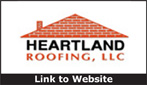 Website for Heartland Roofing, Siding, Windows, LLC