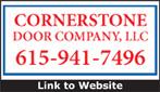 Website for Cornerstone Door Company