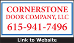 Website for Cornerstone Door Company