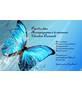 Papillon bleu Doula Logo